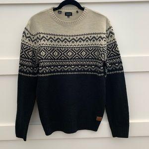 Buffalo David Bitton Like New Norwegian Sweater